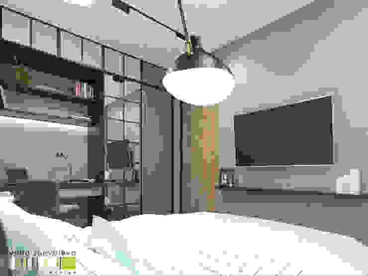 Oficinas de estilo ecléctico de Мастерская интерьера Юлии Шевелевой Ecléctico