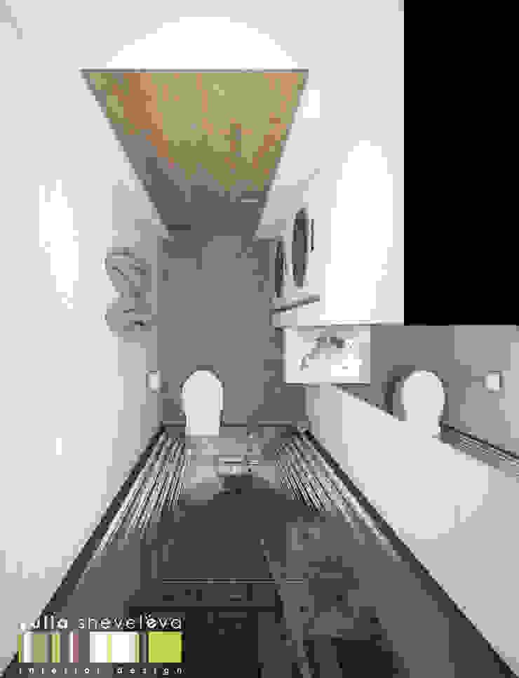 Baños de estilo ecléctico de Мастерская интерьера Юлии Шевелевой Ecléctico