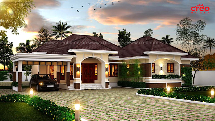 Architects in Kerala Asian style houses by Creo Homes Pvt Ltd Asian