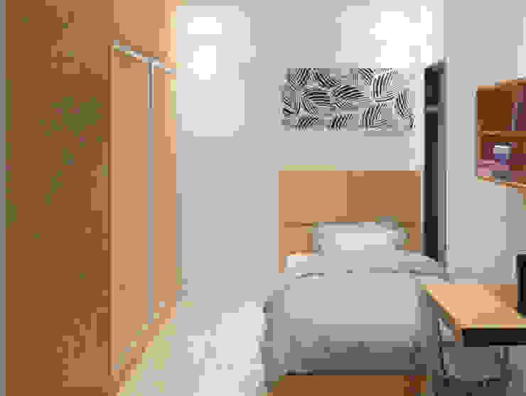 Kamar Tidur Tamu Lantai 1 (Perspektif lain) Oleh Tatami design