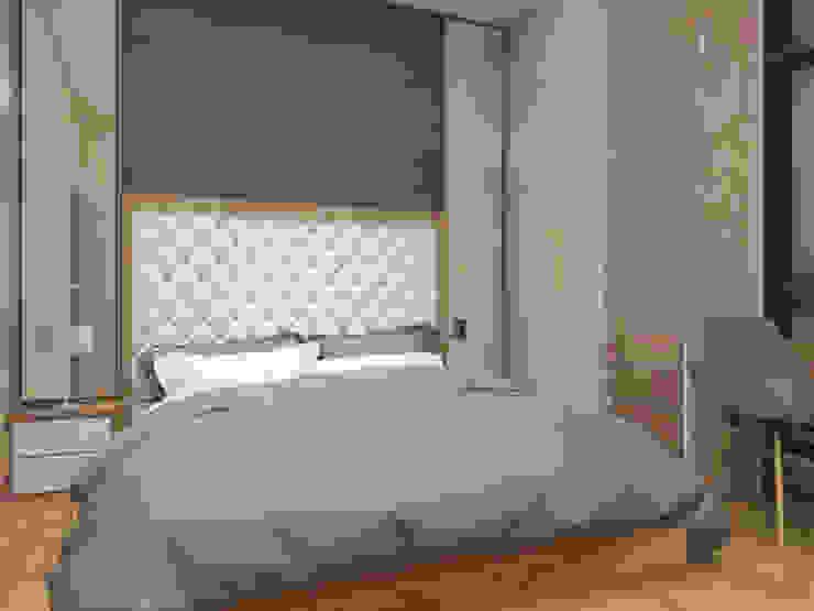 Kamar Tidur Utama Lantai 2 Oleh Tatami design