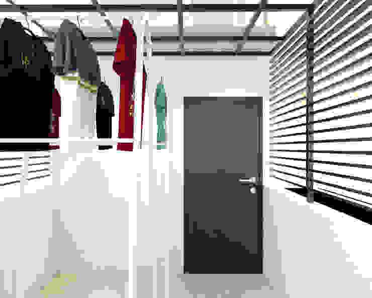 Ruang Jemur Lantai 3 Oleh Tatami design