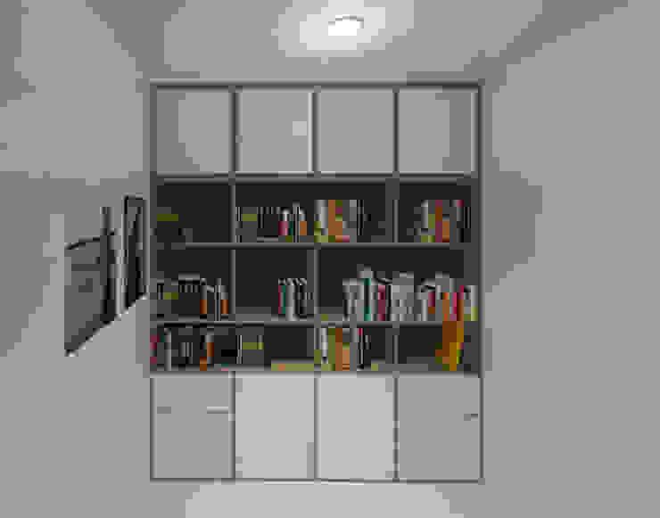 Ruang Kantor Lantai2 Oleh Tatami design