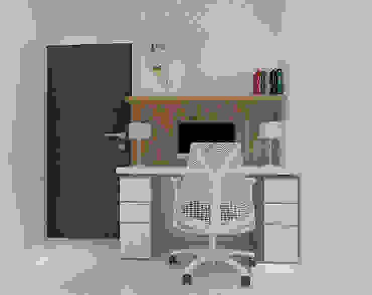 Ruang Kantor Lantai 2 (Perspektif Lain) Oleh Tatami design
