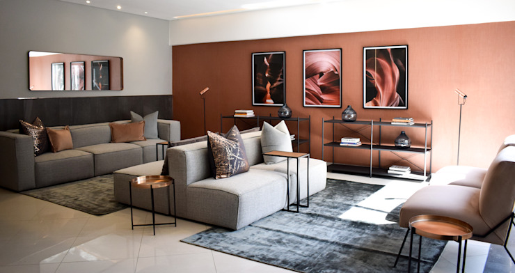Lobby Rosebank: modern  by Design Air, Modern