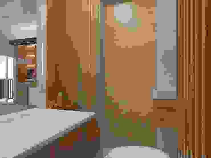 Kamar Mandi 1 (Tampak Lain) Oleh Tatami design