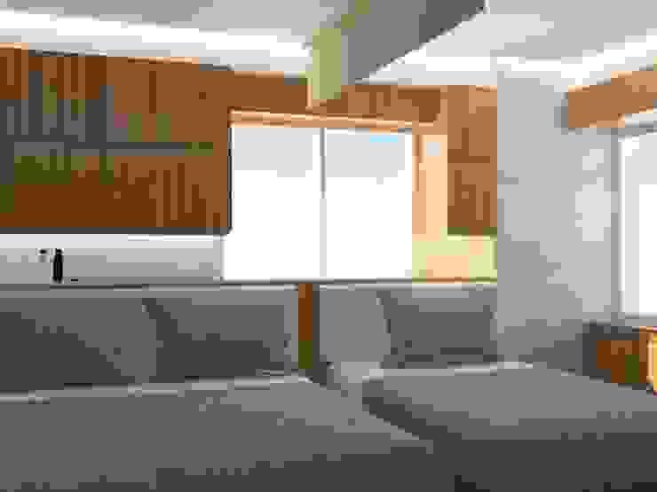 Kamar Tidur 1 (Perspektif Lain) Oleh Tatami design