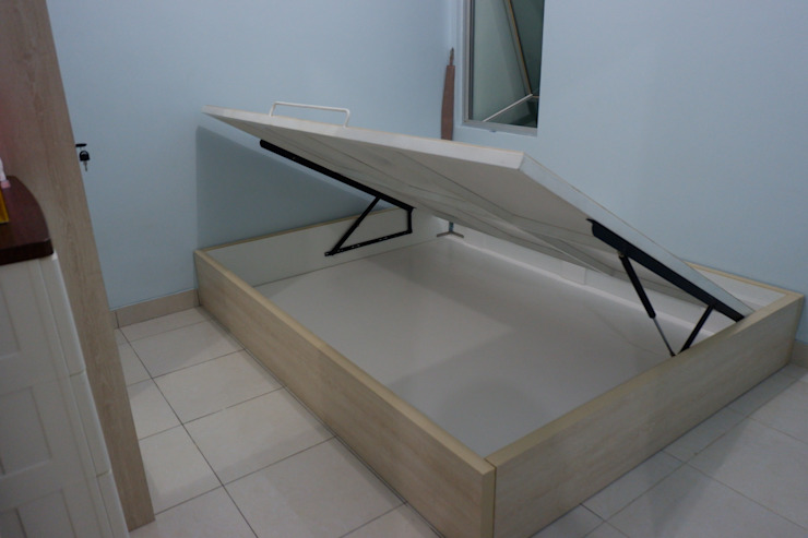 Bed + Storage Oleh Tatami design Minimalis