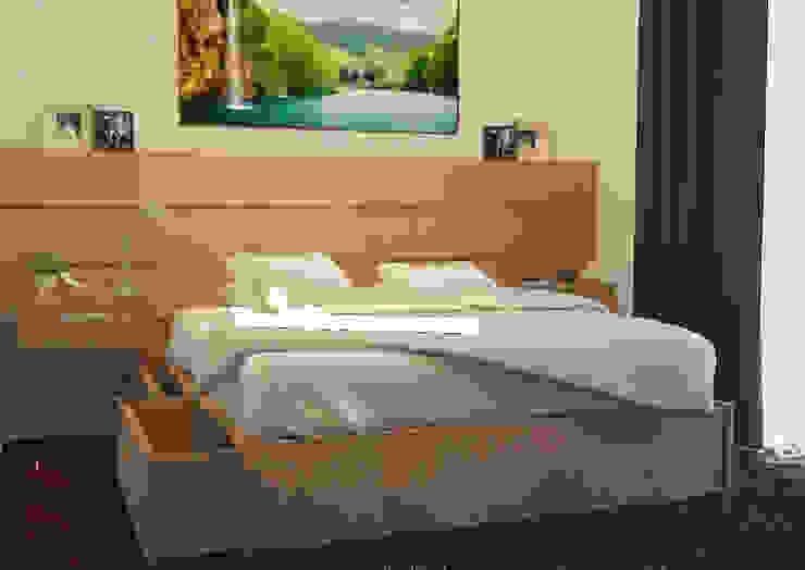 Design awal Kamar tidur 4 Oleh Tatami design