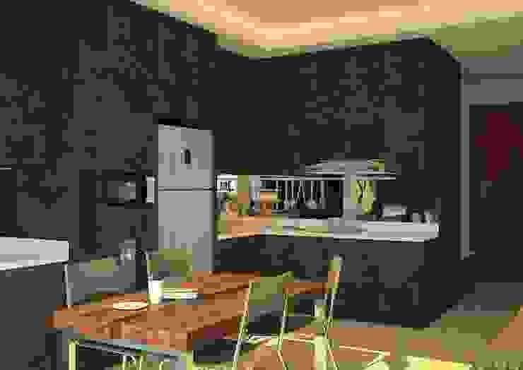 Kitchen Area Oleh Tatami design