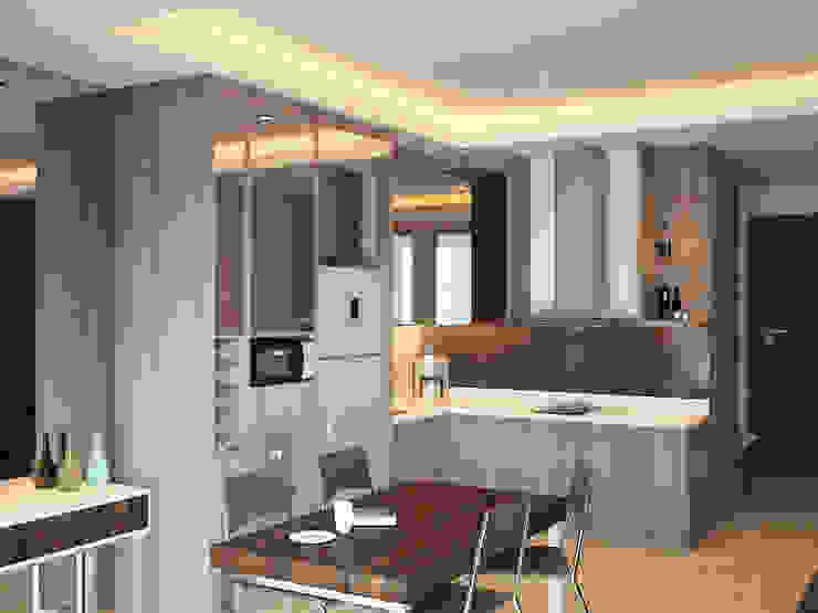Kitchen Area 2 Oleh Tatami design
