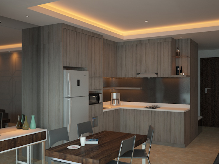 Kitchen Area 3 Oleh Tatami design