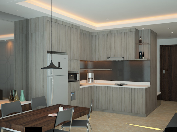 Kitchen Area 5 Oleh Tatami design