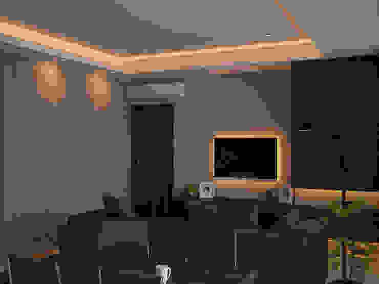 Ruang Keluarga (Tampak Lain) Oleh Tatami design