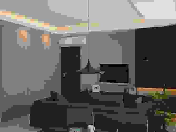 Ruang Keluarga 2 (Tampak Lain) Oleh Tatami design