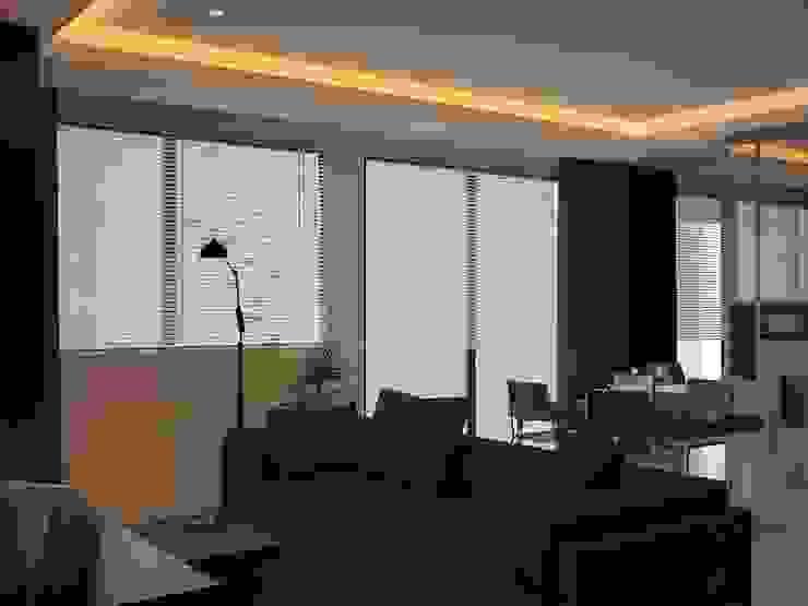 Ruang Keluarga Oleh Tatami design