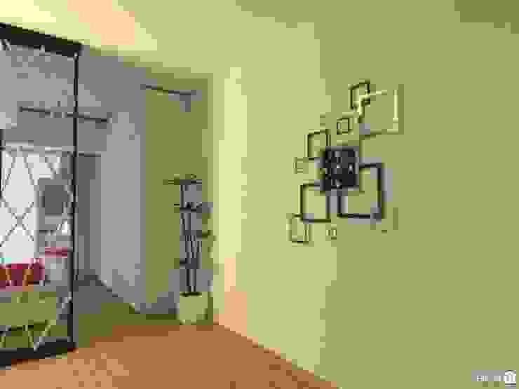 Monoambiente - Recoleta Pasillos, vestíbulos y escaleras modernos de Arquimundo 3g - Diseño de Interiores - Ciudad de Buenos Aires Moderno