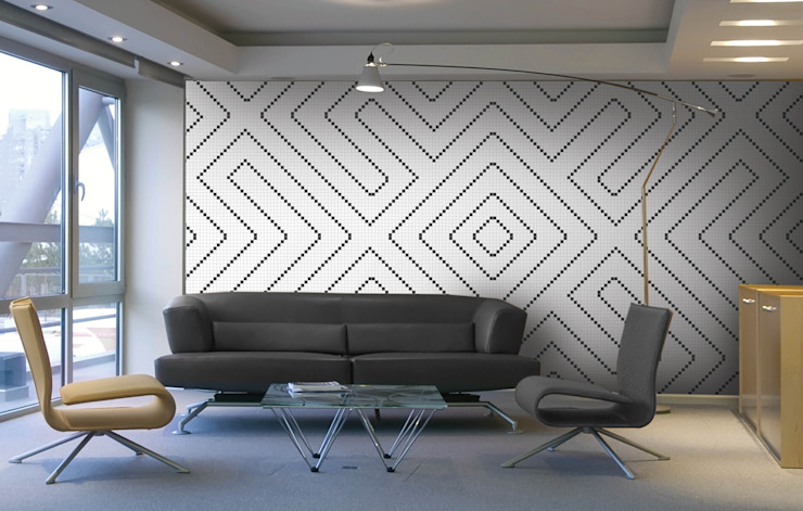 Aquacolors / Moretti A&D Modern Study Room and Home Office