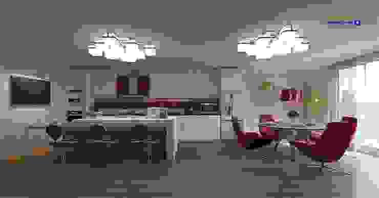 Kitchen (contemporary style) by 'Design studio S-8' Minimalist