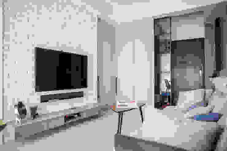 現代簡約舞春秋 根據 富亞室內裝修設計工程有限公司 北歐風 磁磚