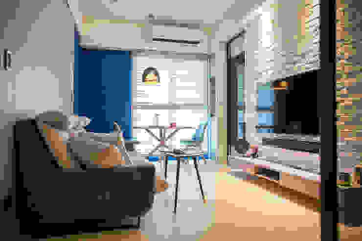 現代簡約舞春秋 根據 富亞室內裝修設計工程有限公司 北歐風 石板