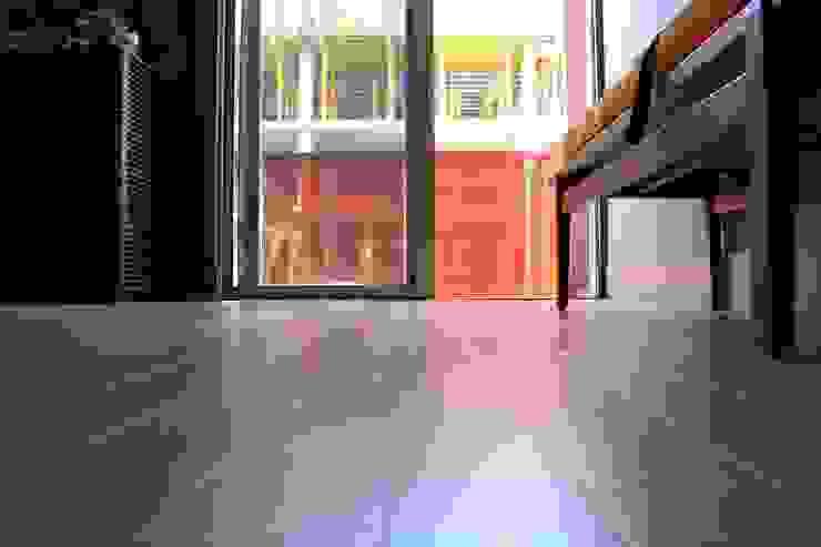 Hardwood Floor Refinishing Modern Kitchen by David's Hardwood Flooring Modern