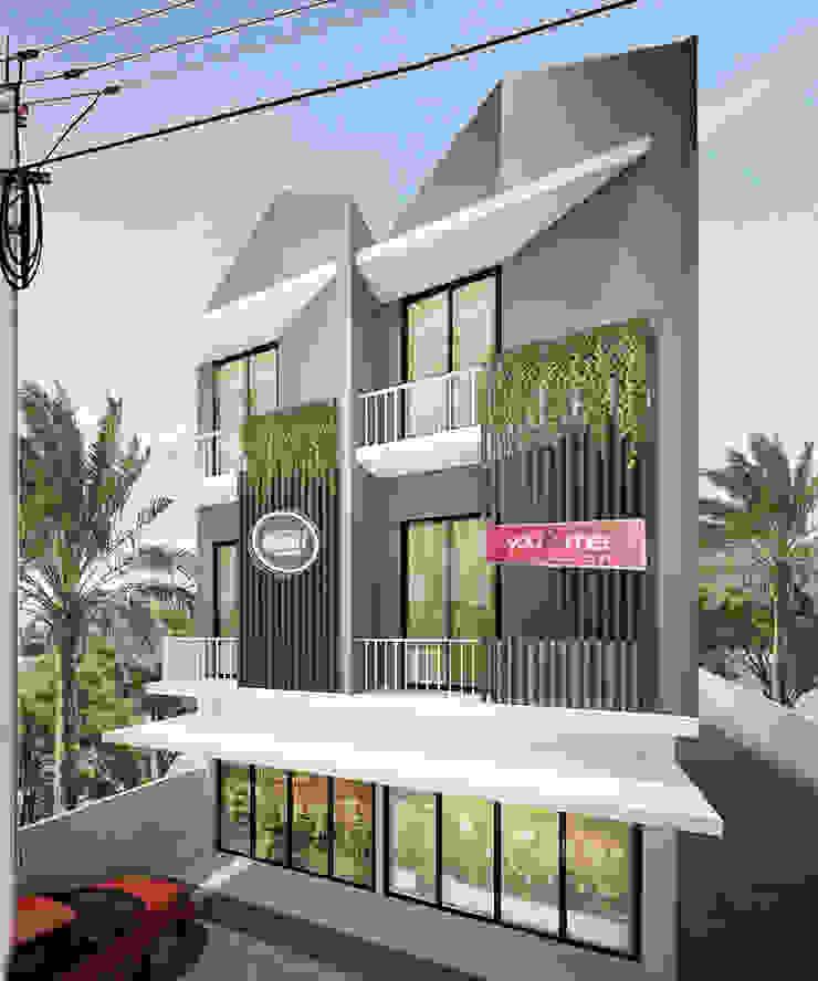 samarinda ruko Rumah Modern Oleh midun and partners architect Modern
