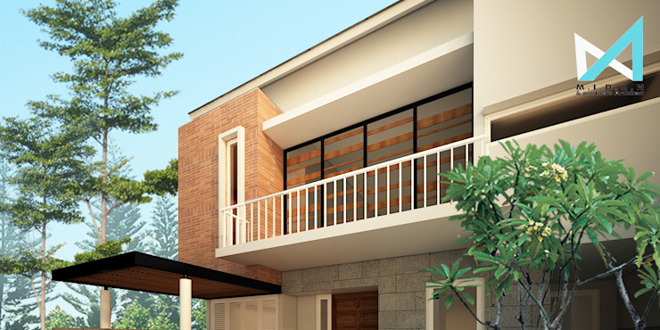 lakarsantri house Rumah Tropis Oleh midun and partners architect Tropis