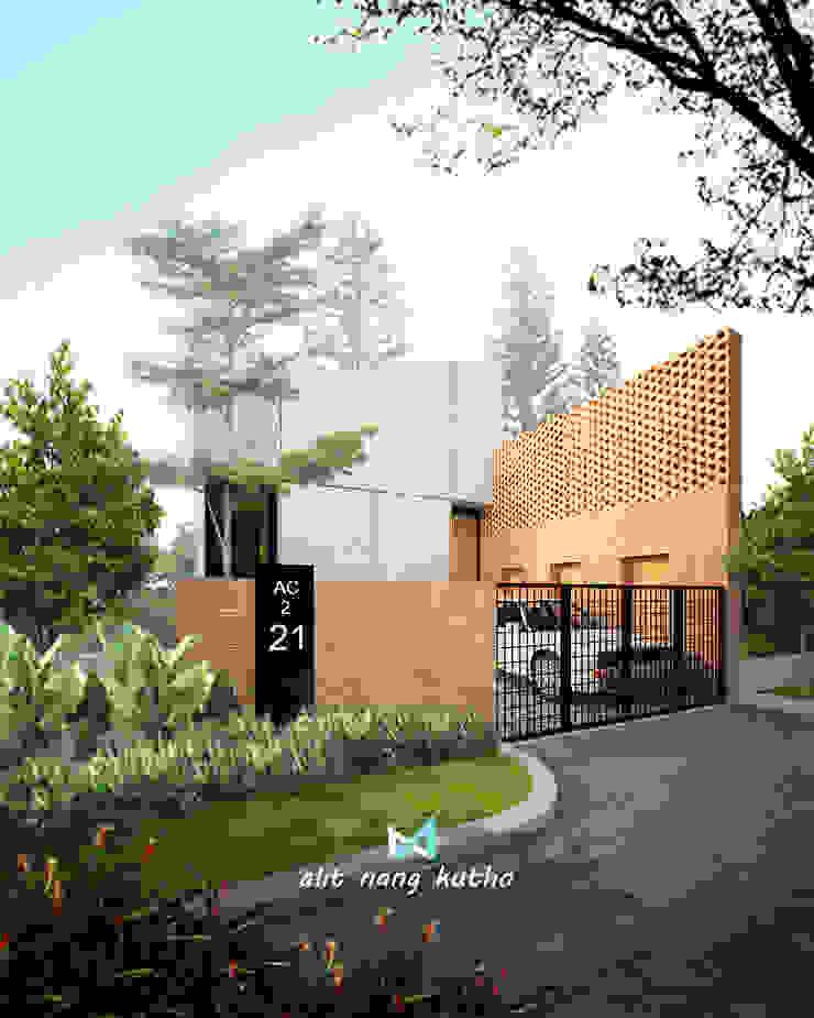alit nang kutho p2 Rumah Modern Oleh midun and partners architect Modern