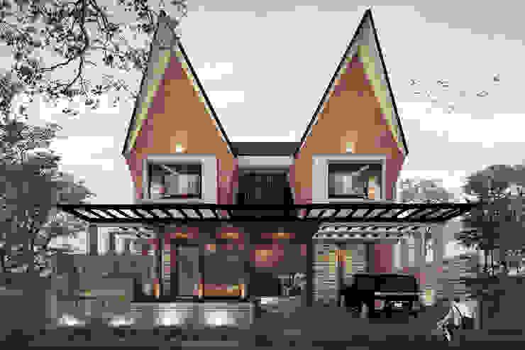 ER HOUSE Rumah Gaya Asia Oleh midun and partners architect Asia