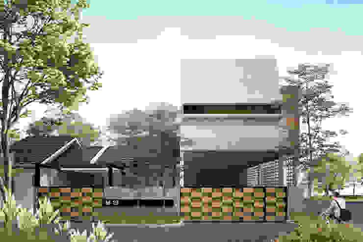 MUF HOUSE Rumah Gaya Industrial Oleh midun and partners architect Industrial