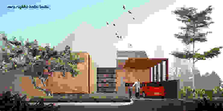 RZ HOUSE Rumah Tropis Oleh midun and partners architect Tropis