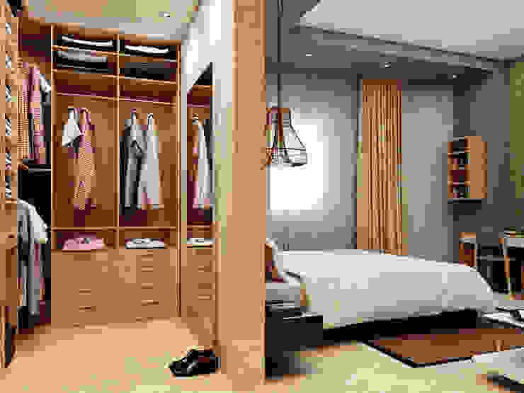 شقة سكنية : حديث  تنفيذ 4walls, حداثي