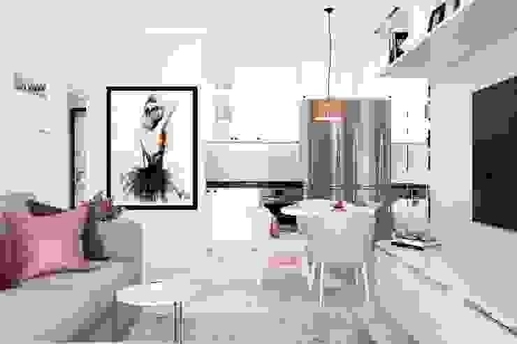Однокомнатная квартира Жк Легенда : Кухни в . Автор – Дизайн Студия Katushhha,