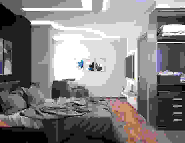 شقة سكنية : الحد الأدنى  تنفيذ 4walls, تبسيطي