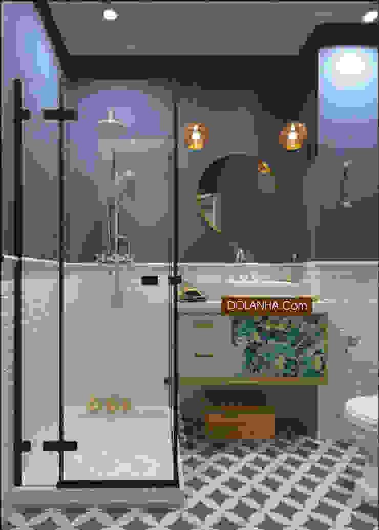 18 mẫu phòng tắm ĐẸP NHẤT 2019 Phòng tắm phong cách hiện đại bởi DOLANHA Hiện đại