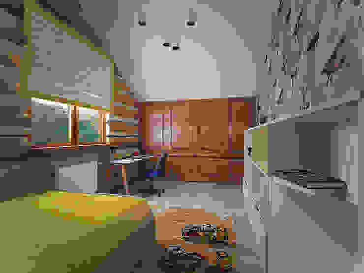 студия Виталии Романовской Country style nursery/kids room