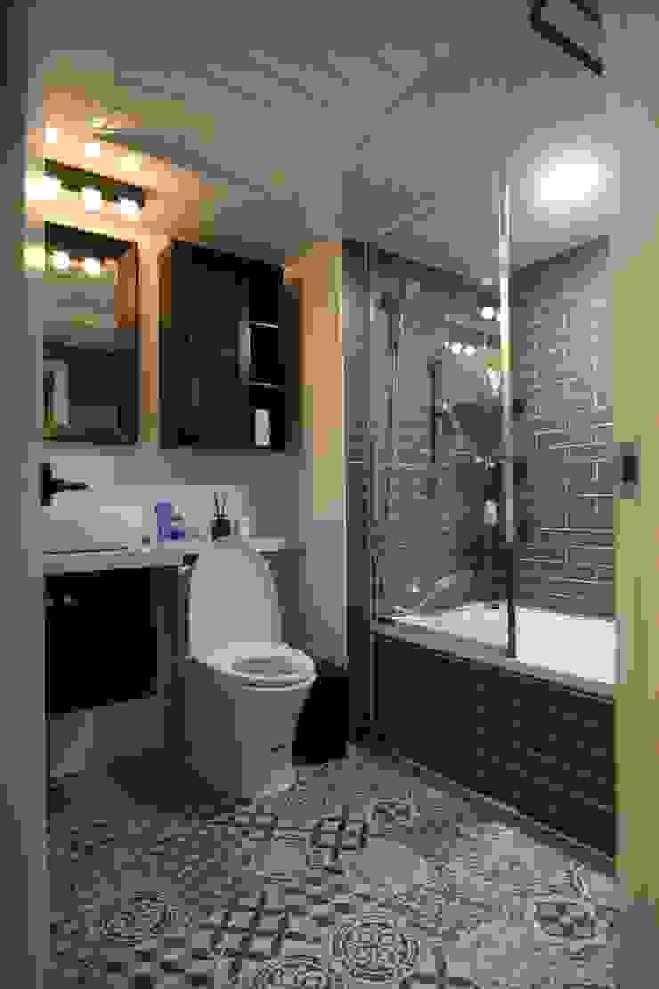 욕실인테리어 모던스타일 욕실 by IDA - 아이엘아이 디자인 아틀리에 모던