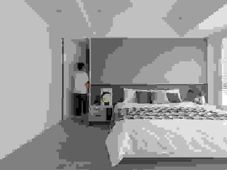 【靜】– 陳宅 六木設計 臥室