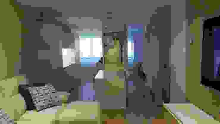 Projekty,  Salon zaprojektowane przez Qum estudio, tienda de muebles y accesorios en Andalucía ,