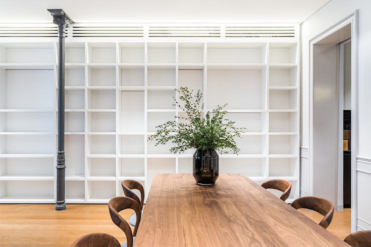 Classic style dining room by AGi architects arquitectos y diseñadores en Madrid Classic