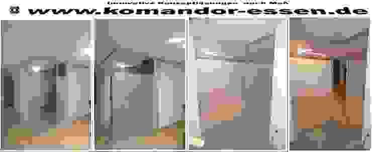 Schiebetüren nach Maß Studio Essen Moderner Flur, Diele & Treppenhaus von Komandor Essen Schiebetüren Studio Jarosch Siegfried Modern Glas