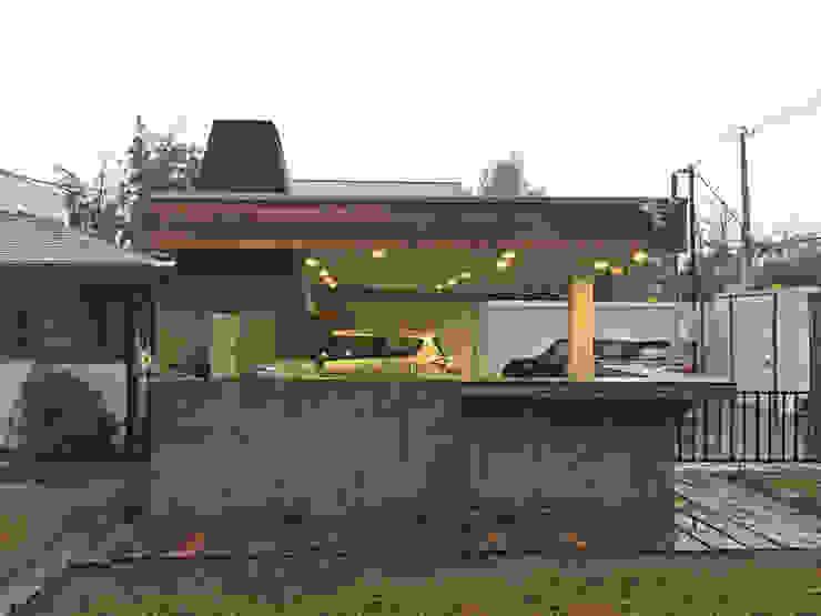 m2 estudio arquitectos - Santiago Garden Fire pits & barbecues