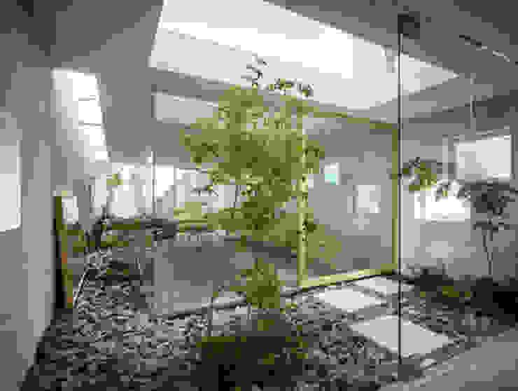 Jardines de piedras de estilo  por Tukang Taman Surabaya - Tianggadha-art, Moderno Piedra