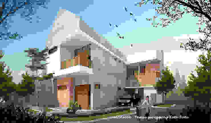 AT HOUSE Rumah Tropis Oleh midun and partners architect Tropis
