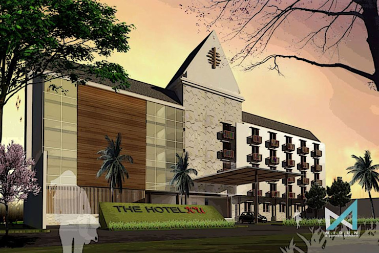baliku hotel Rumah Tropis Oleh midun and partners architect Tropis