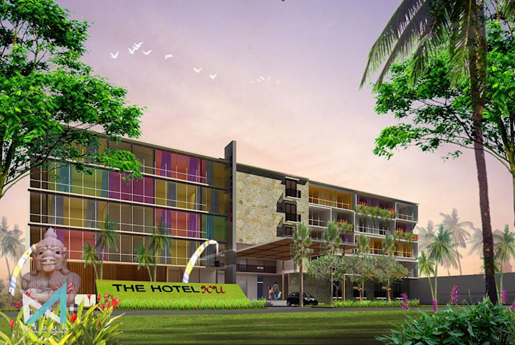 baliku hotel Rumah Tropis Oleh midun and partners architect Tropis