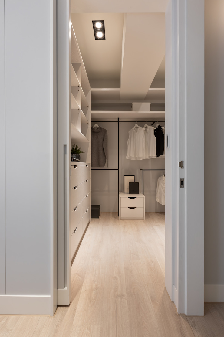 更衣室 存果空間設計有限公司 更衣室