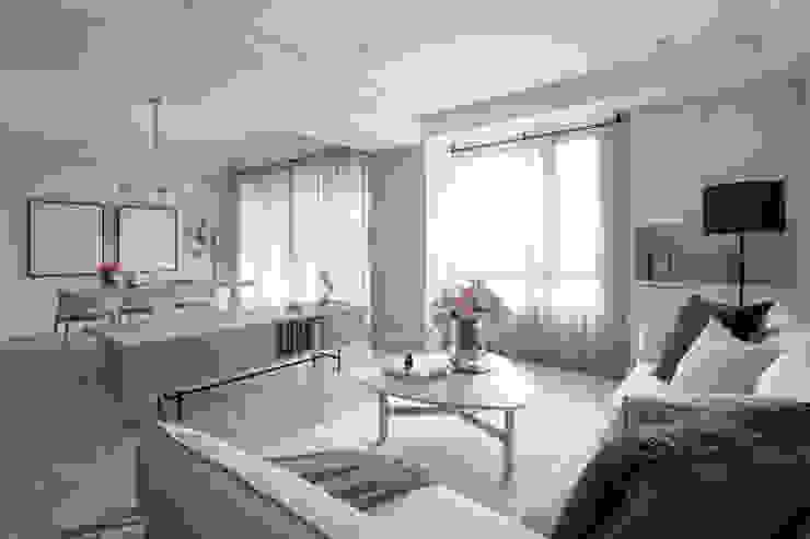 客廳 存果空間設計有限公司 现代客厅設計點子、靈感 & 圖片