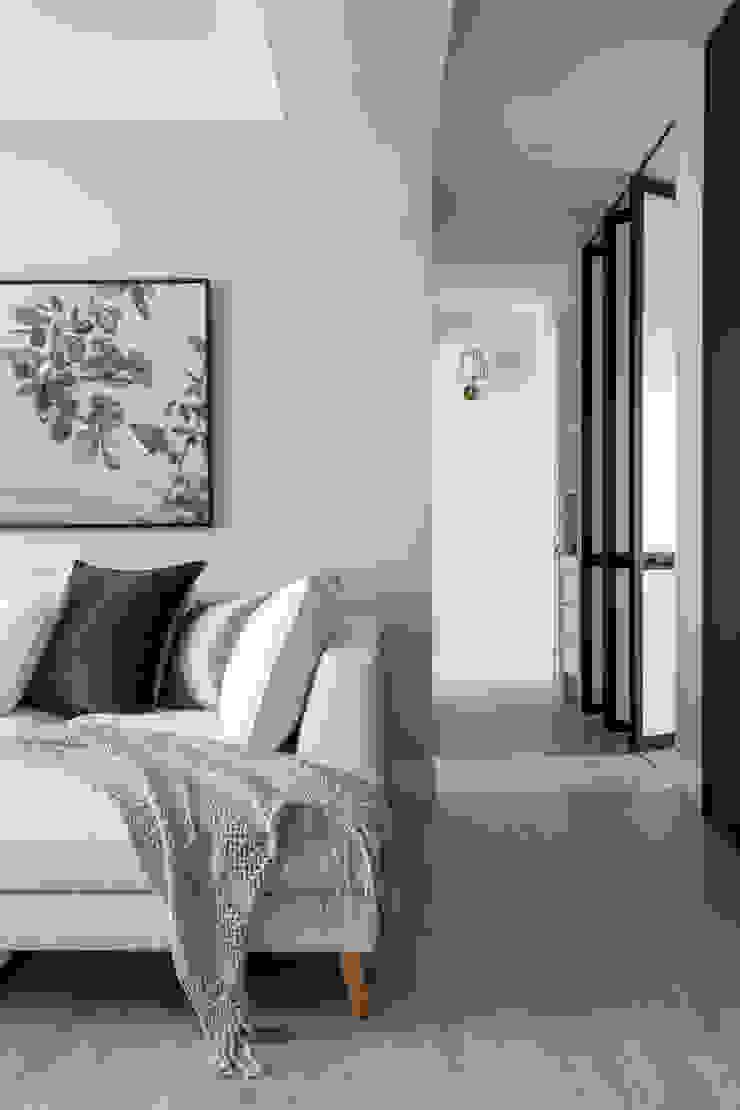 廊道 存果空間設計有限公司 現代風玄關、走廊與階梯